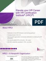 HRCI General Presentation 2018_HR Plus Global