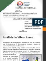 Trabajo de Análisis de Vibraciones