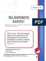 2017 Mes 08 Dia 06 -r. Celulas - Espiritu Santo - Juana Castillo
