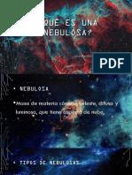 Qué Es Una Nebulosa