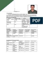 Ranjith Resume
