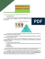 Rasgos Fundamentales de La Organización Política y Social de Roma