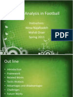 Tactical Analysis in Football, V1.01