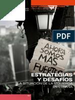 Estrategia y desafíos La situacion  de la izquierda en espana Cesar Rendueles