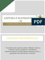 Leitura e Matemática – XI