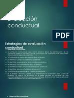 6Evaluación  conductual