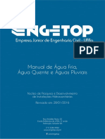 Manual de Água Fria, Água Quente e Águas Pluviais