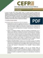 Resumen PEF2014 CEFP