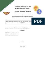 Equlibrio de Vapor Liquido (Evl) en Sistema Binario de Hexano y Pentano