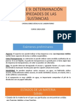 Determinación de Sustancias Farmacia y Parafarmacia
