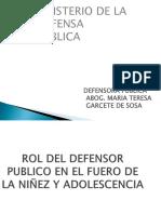 Ministerio de La Defensa Publica