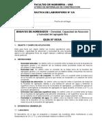 Densidad-Agregado Fino 03A