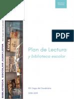 Plan de Lectura y Biblioteca Escolar 18-19