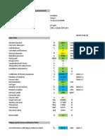 API RP 1102 Spreadsheet
