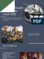 A Industrialização Dos EUA No Século XIX