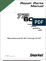 TB 60 Repair Parts