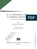 John McLeish - La Teoría Del Cambio Social