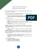 Ficha Avaliação Auriculoterapia
