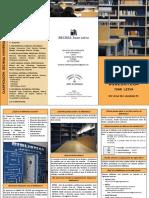 GUIA de USUARIO/A Biblioteca Escolar Juan Leiva. 2019