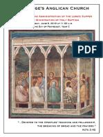 Pentecost 2019 - 09 June 1100 Only - Baptism