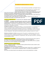 Resumo Processual Civil I AV1