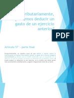 NIC 2 Tributación- Perú