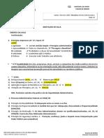 Resumo - Direito Administrativo - Aula 02 - Principios Do Direito Administrativo - Prof. Patricia Carla