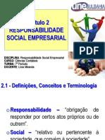 Capítulo 2 - Responsabilidade Social Empresarial