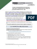 Interno de TISG - Orientaciones