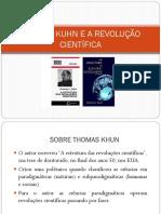 Thomas khun e a estrutura das revoluções cientificas aula