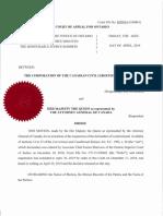Court Order Striking Down Solitary Confinement