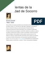 Presidentas de La Sociedad de Socorro (1)