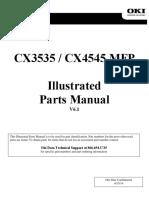 CX3535, CX4545 Parts Manual