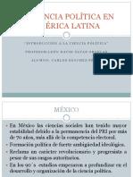 La Ciencia Política en América Latina