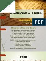 Introducción a La Sagrada Escritura -Abp