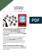 Ranking 2019 de Las 100 Mejores Empresas Multinivel Del Mundo
