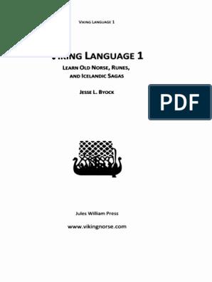 Viking Language Series] Jesse L  Byock - Viking Language 1_