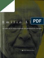 Emilio Lledo Un Sabio en La Mejor Tradicion Del Pensamiento Europeo