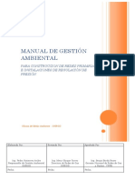 Manual de Gestion Ambiental Redes Primarias e Inst. de Regulacion de Presion