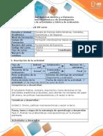 Guía de Actividades y Rúbrica de Evaluación - Fase 3 - Analizar Las Problemáticas Macroeconómicas en La Situación Planteada
