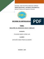 Informe de Empresariado