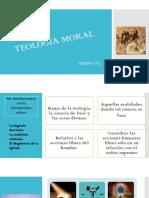 TEOLOGIA MORAL ETICA.