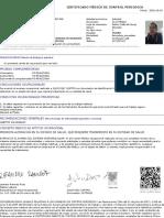 Certificado Medico Juliodiaz