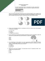 Evaluación Matemática para 6 Año Básico