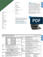 ThinkPad T440p Single Model MY Laptop Hardware Specs