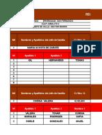 Formato Censo Alimentacion Rw Clap Jobalito II Calle Madariaga