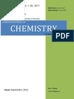 Azmat_Demonstration of Direct Observation of Transition State Through Blue Bottle Experiment [Pak. J. Chem. 1(3)138-139, 2011]