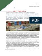 Informe Crisis Editorial