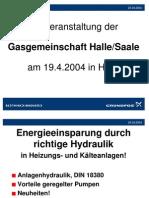 Hydraulik Grundfos