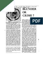 Samuel Shenton - Blunder or Crime